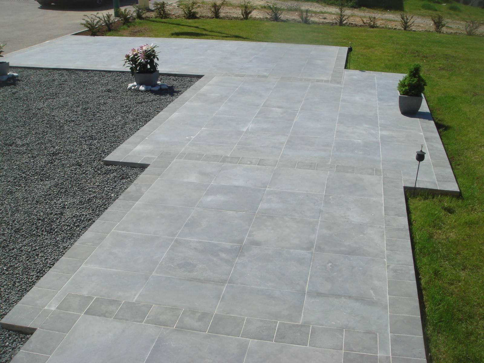 Dallage pierre ext rieur proche montpellier 34 taille et for Dallage pierre exterieur