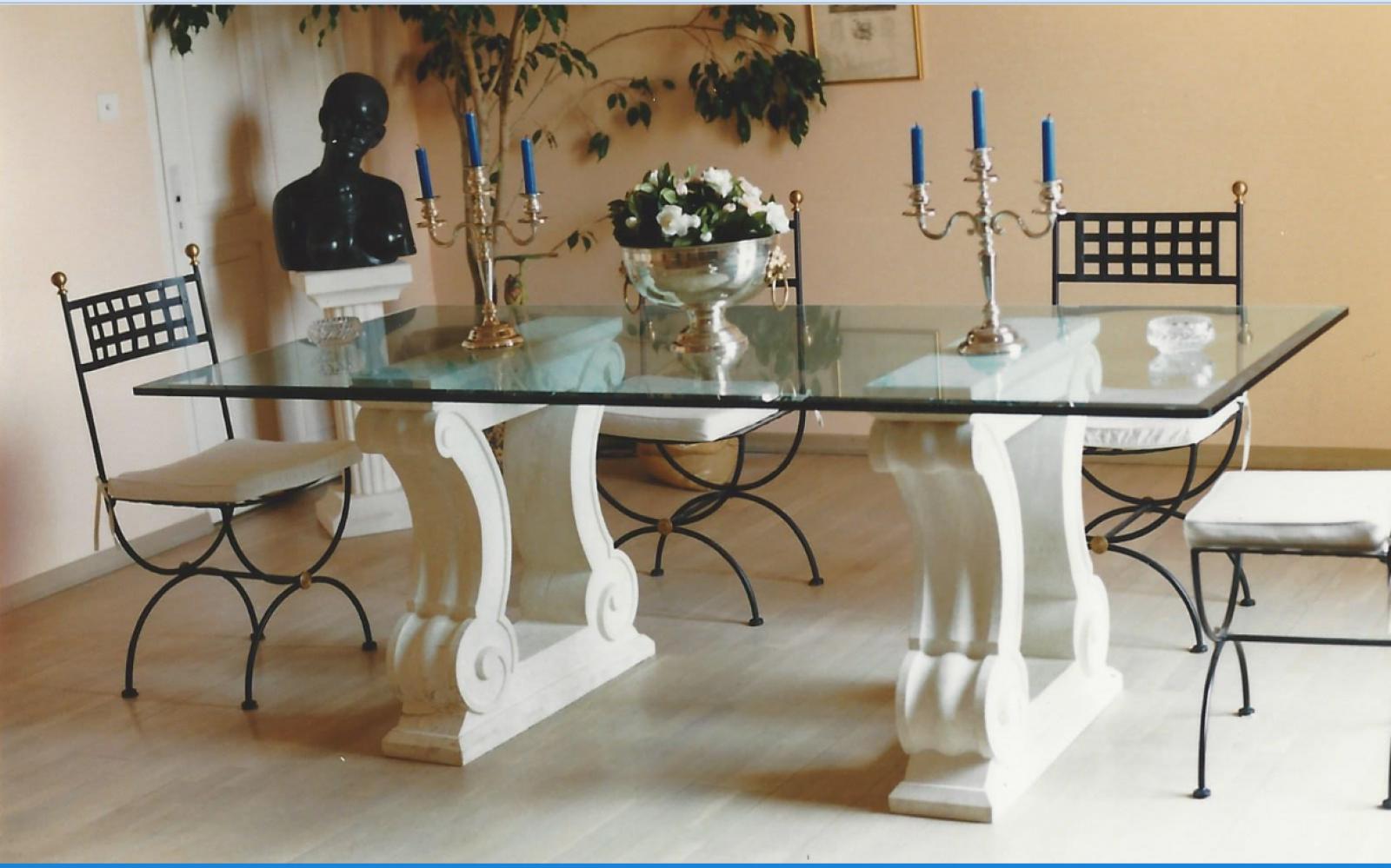 Best Table En Pierre Naturelle Contemporary