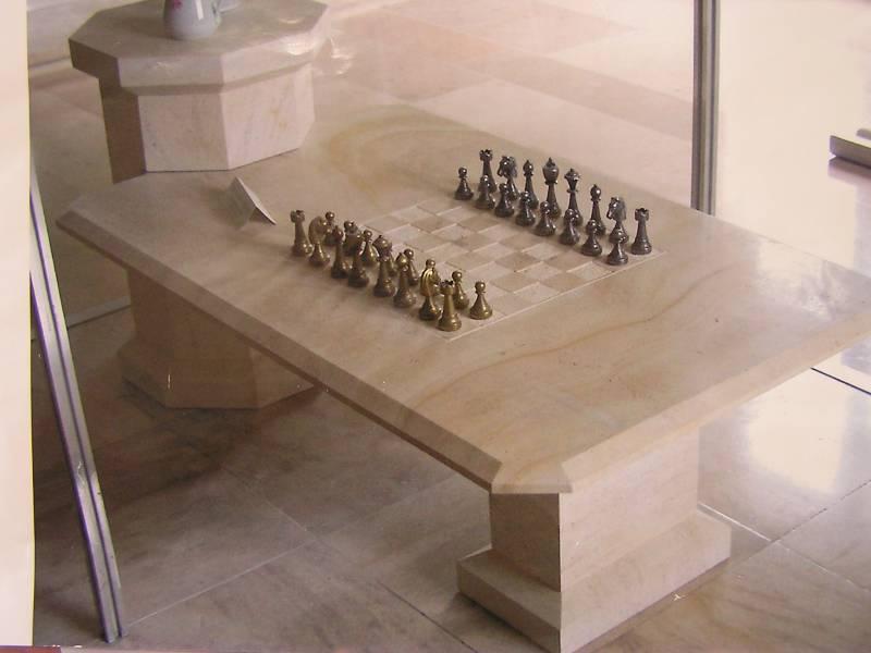 plateau de table en pierre naturelle et marbre uzs gard 30 - Table En Pierre Exterieur